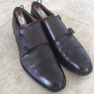 Grenson wingtip shoes